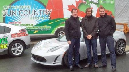 En Canadá se pueden hacer viajes de costa a costa en coche eléctrico gracias a Sun Country Highway