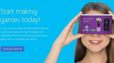 A Google Cardboard le sale un competidor: Microsoft VR Kit
