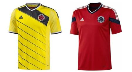 Playera de Colombia