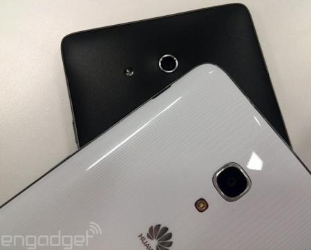 Huawei Ascend Mate 2, nuevas imágenes junto al primer modelo