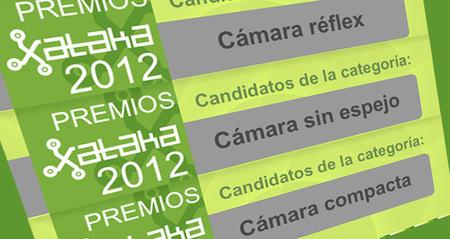 Vota por las mejores cámaras del año en los Premios Xataka 2012