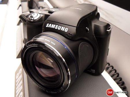 Samsung WB5000, 24X, controles manuales y RAW