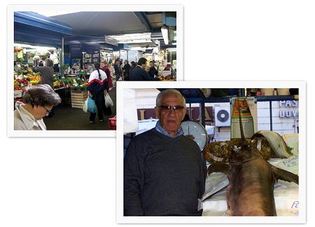 Mercado de Testaccio. Pesci