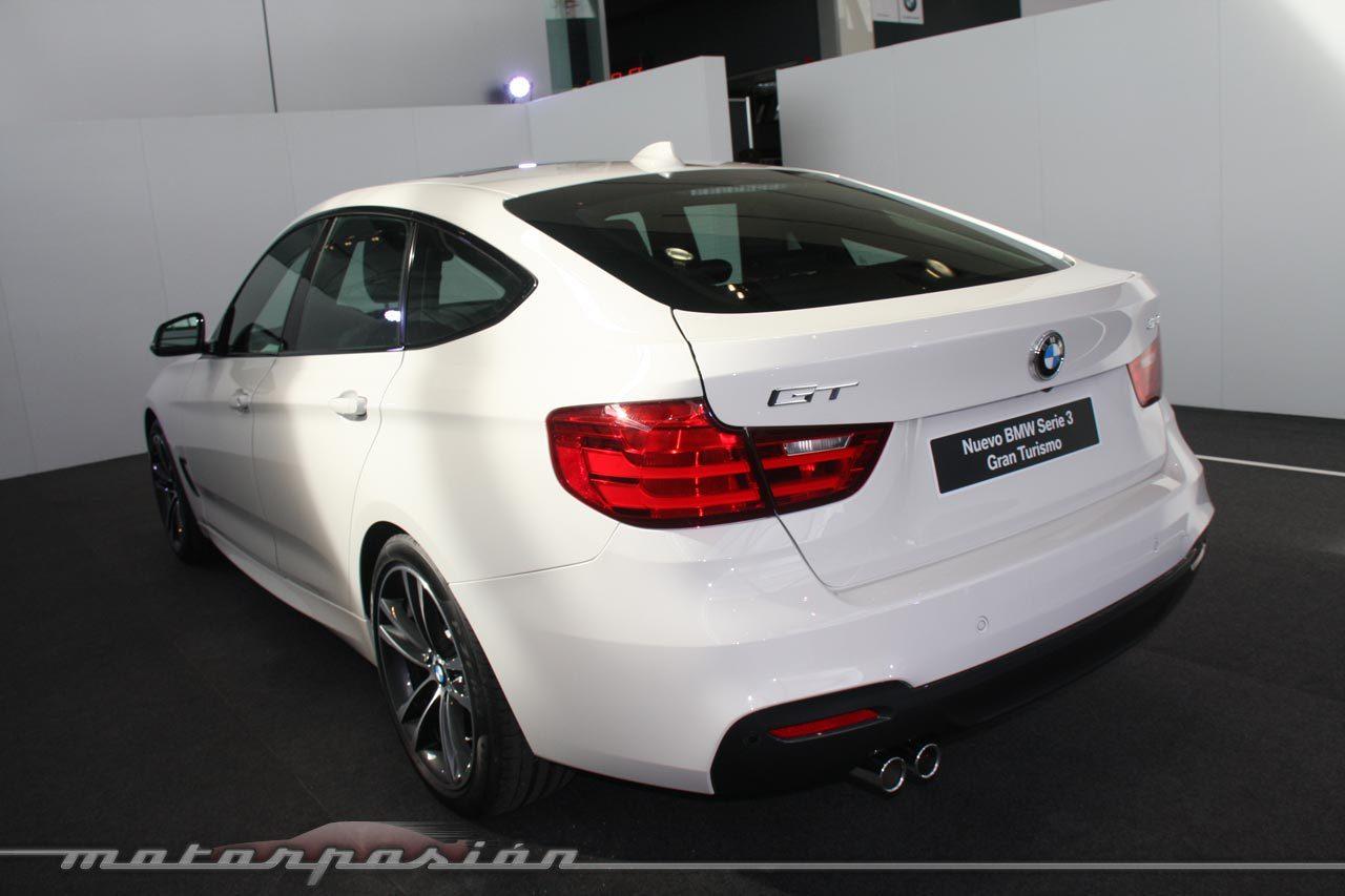 Foto de BMW Serie 3 GT (Presentación estática) (21/43)