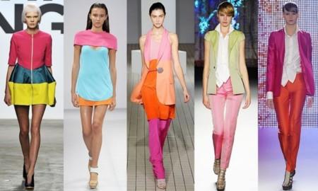 Tendencias Primavera-Verano 2012: color block versión 2012