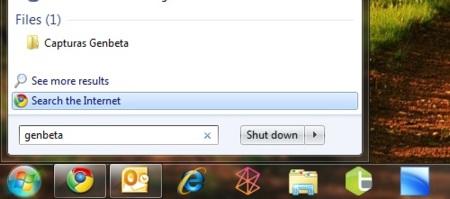 Cómo buscar en Internet desde el menú Inicio en Windows 7