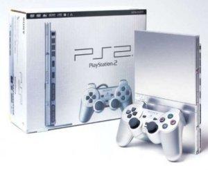 Sony presenta una nueva PS2 plateada