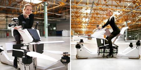 Scorpion-3 es la primera hoverbike tripulada: el sueño de la moto voladora más cerca