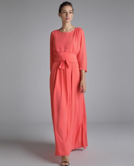 vestido invitada otoño