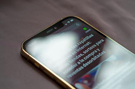La pantalla del iPhone 12