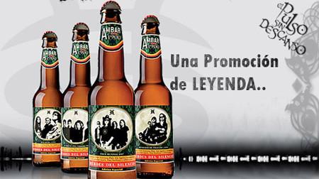 Cerveza Ambar, Edición Especial Heroes del Silencio