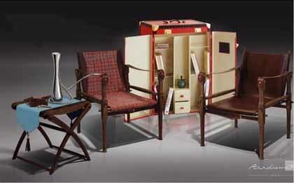 Baúl con muebles de viaje: esto sí que es viajar con estilo