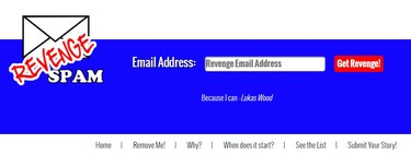 Esta web permite introducir un correo electrónico en varias listas de spam como venganza y no es nada divertido
