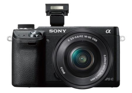 Sony NEX-6 con flash y WiFi