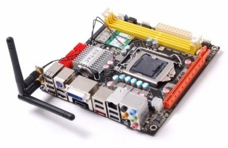 Zotac H55-ITX en formato reducido para los nuevos micros de Intel
