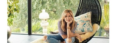 Jennifer Aniston enseña su nueva casa y confiesa que le ha encantado ser decoradora amateur