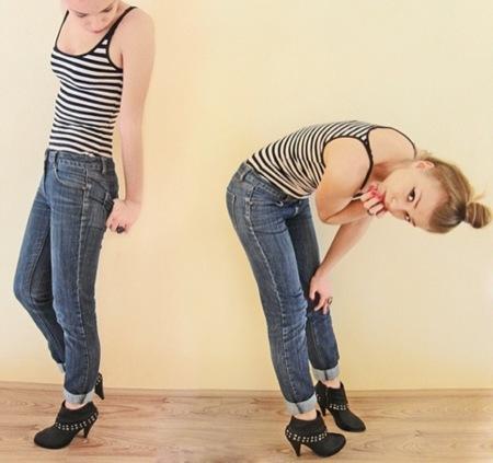 El tejido vaquero dominará la próxima Primavera-Verano 2010: looks de calle, jeans
