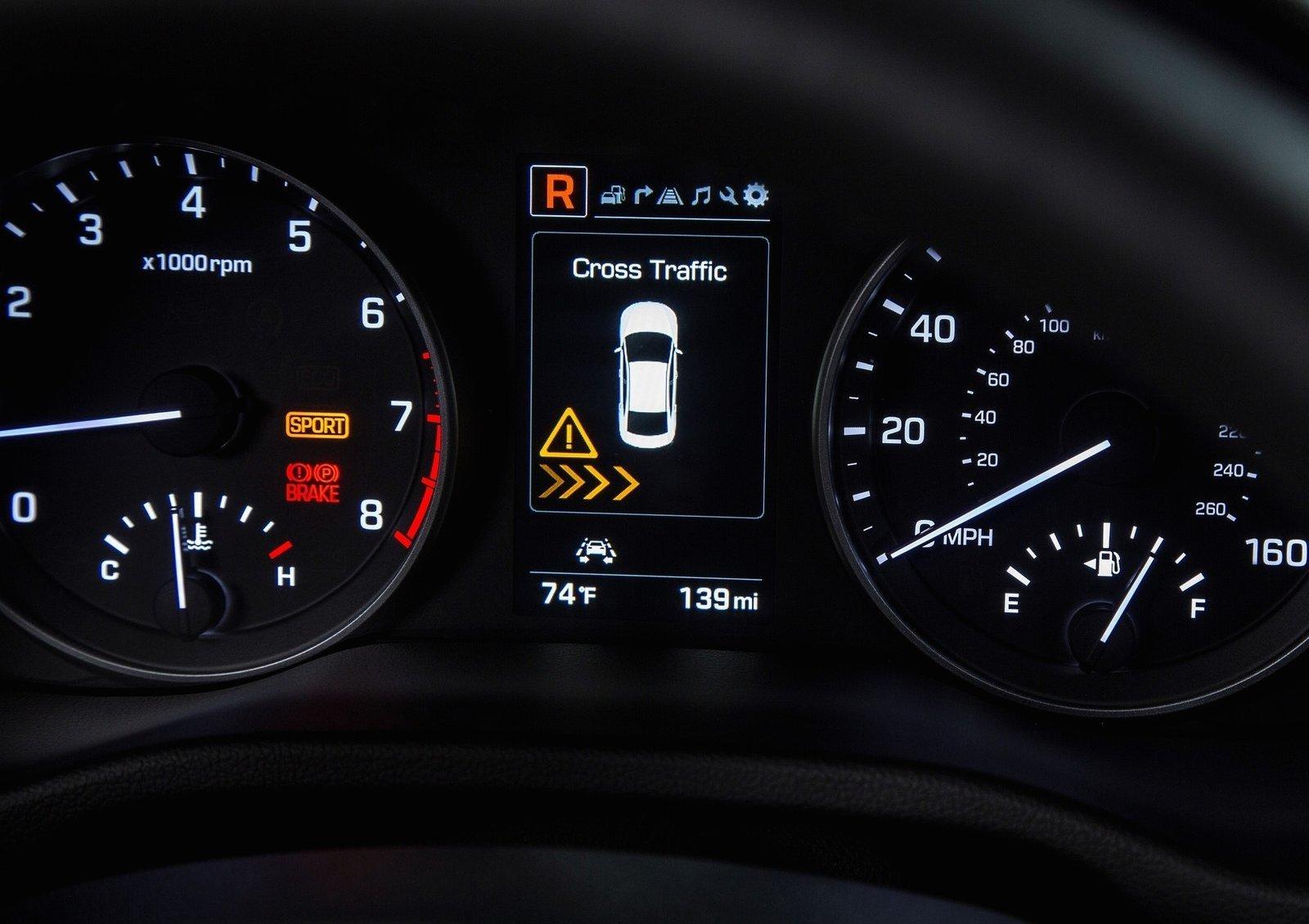 Warning Lights In Hyundai Elantra >> Foto de Hyundai Elantra 2017 (21/26)