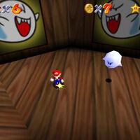 Super Mario 64: cómo conseguir la estrella Ride Big Boo's Merry-Go-Round de Big Boo's Haunt