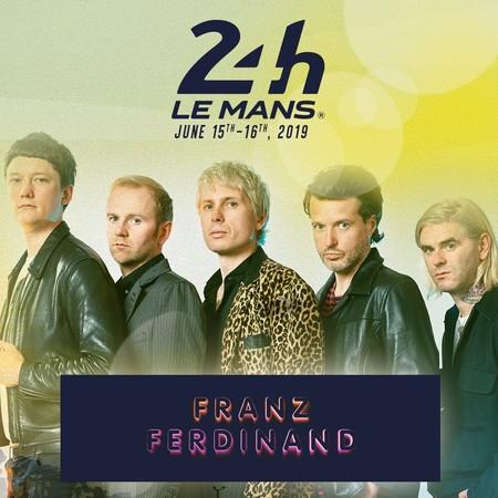 Cartel Franz Ferdinand 24 Horas Le Mans