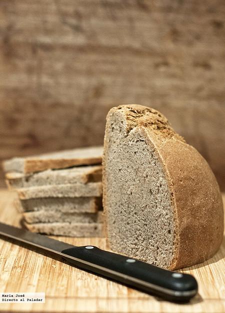 Pan de trigo sarraceno, receta con Thermomix