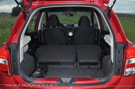 Nissan Micra CVT Maletero