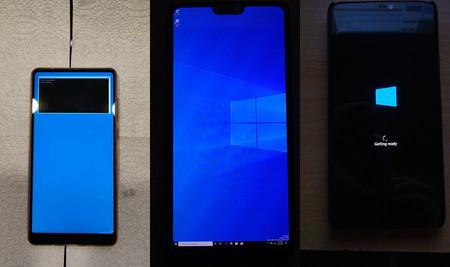 Prueban a ejecutar Windows 10 ARM en más teléfonos basados en Android: OnePlus 6, Xiaomi Mi Mix 2S y Galaxy S8