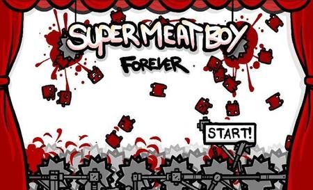 Olvidad A Voyeur for September. Team Meat nos la jugó: era Super Meat Boy Forever