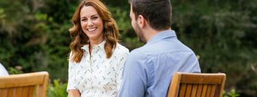 Kate Middleton o cómo lucir uno de los vestidos más frescos (y sencillos) del verano