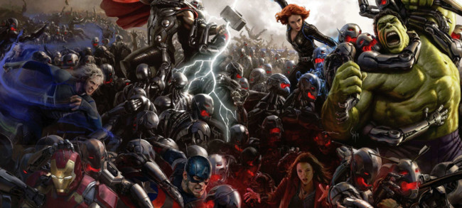 Avengers Age Of Ultron Collage 0