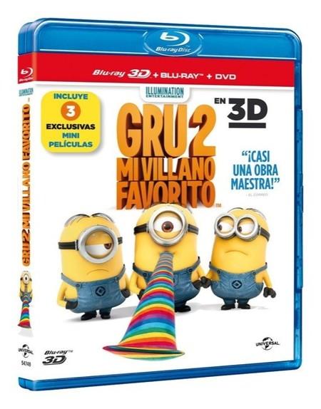 Estrenos DVD y Blu-ray | Se lanza Gru 2 mi villano favorito