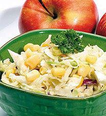 Reinventa las ensaladas, añade frutas