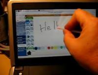 Dell Mini 9 con pantalla táctil