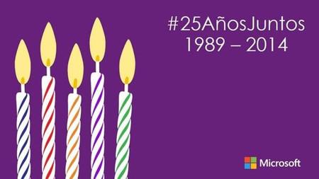 Microsoft cumple 25 años en España
