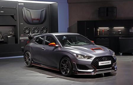 Este Hyundai Performance Car Concept es un escaparate de accesorios deportivos para el Veloster N