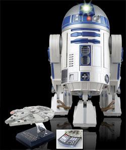 Reproductor/proyector con forma de R2-D2