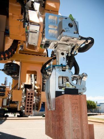 ¿Chau albañiles? Robot construye a 1.000 ladrillos por hora