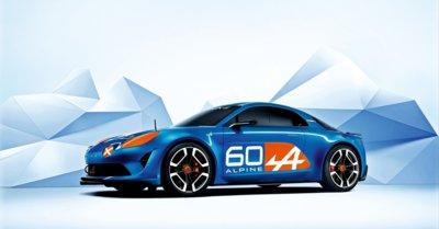 Renault celebra 6 décadas de un auto legendario con el Alpine Celebration Concept
