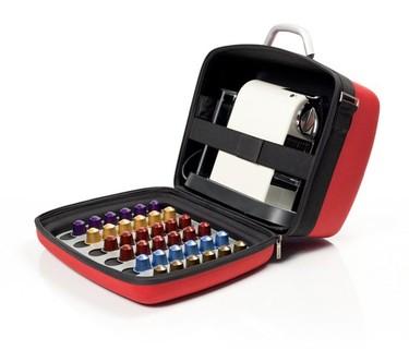 NessCase un maletín para transportar las cafeteras con sus cápsulas