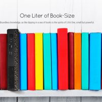 ECS LIVA One, es una poderosa mini-PC con Intel Skylake del tamaño de un libro