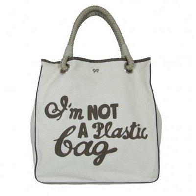 El bolso que no es de plástico