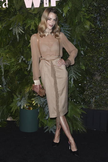 max mara vanity fair red carpet Jaime King