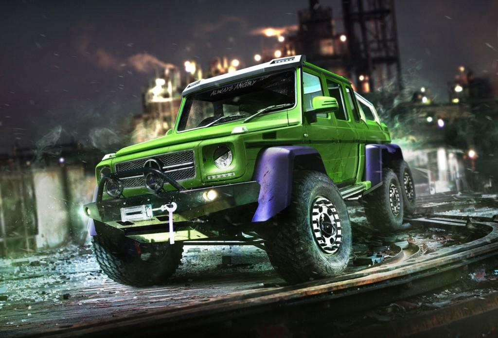 El Mercedes-Benz G 63 AMG 6x6 de Hulk
