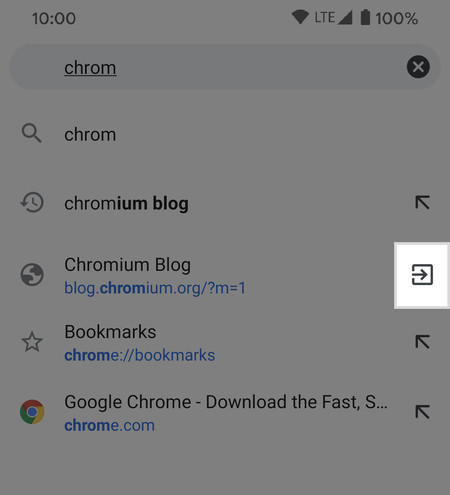 Chrome Cambiar Pestanya
