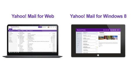 Yahoo! Mail estrena diseño y aplicación para Windows 8