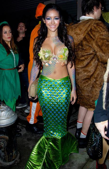 Melanie Iglesias Halloween disfraz