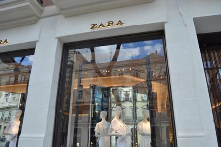 Zara escaparate Serrano Madrid