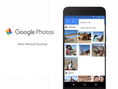 Actualización de Google Photos agrega respaldo manual para fotos y videos locales