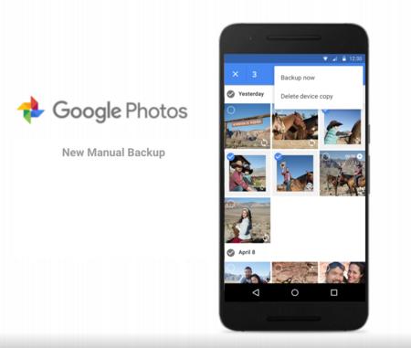 Actualización de Google Photos agrega respaldo manual para fotos y videos locales
