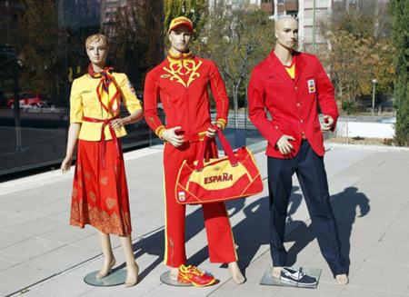 El uniforme olímpico de España 2012 parece una broma (de muy mal gusto)